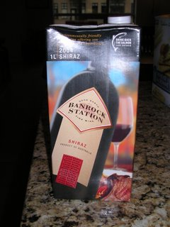 Banrock Shiraz 2004 alternative wine packaging