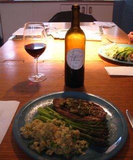 Domaine Magellan Ponant 2003 Vin de pays des Côtes de Thongue lamb dinner pairing