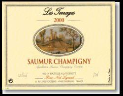 René-Noël Legrand Saumur-Champigny Les Terrages 2001