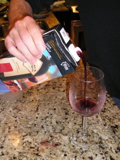 spill test spout trial pouring ease and convenience alternative wine packaging