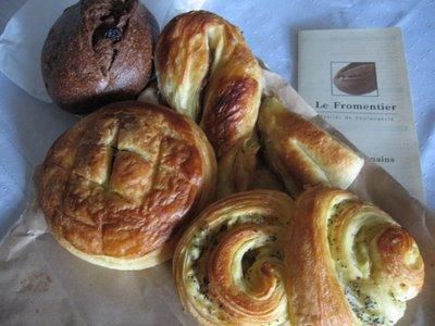 le fromentier atelier de boulangerie montréal carte des pains