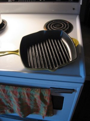 grill pan indoor barbecue creuset griddle
