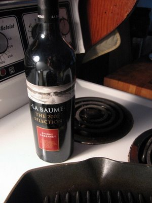 La Baume Selection Shiraz Cabernet 2001