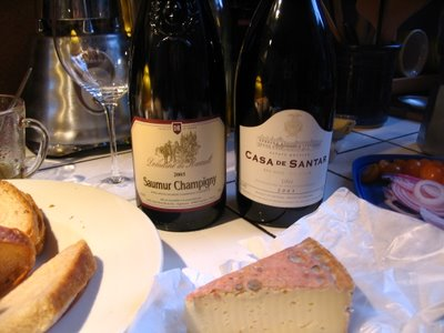 casa de santar dao portuguese red blend domaine ruault saumur champigny cabernet franc 2003
