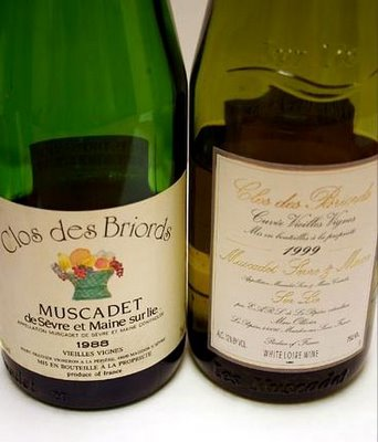 new york times wine column muscadet