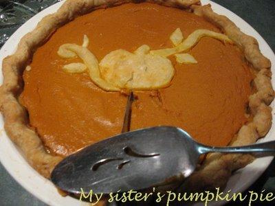 pumpkin pie kristen gilliam