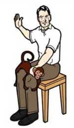 Monkey the monkey will spank