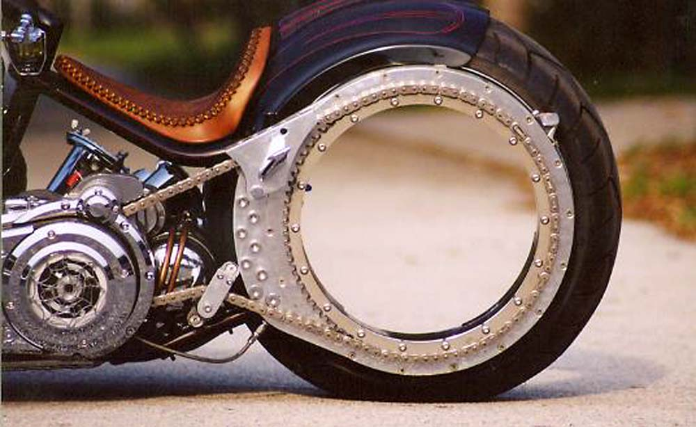 Заднее колесо для чоппера своими руками