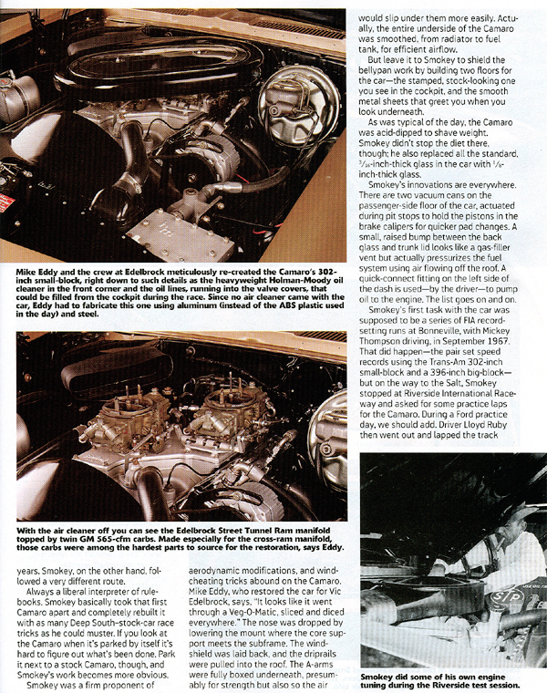 Just A Car Guy A Little About Smokey Yunick And His 68 Camaro