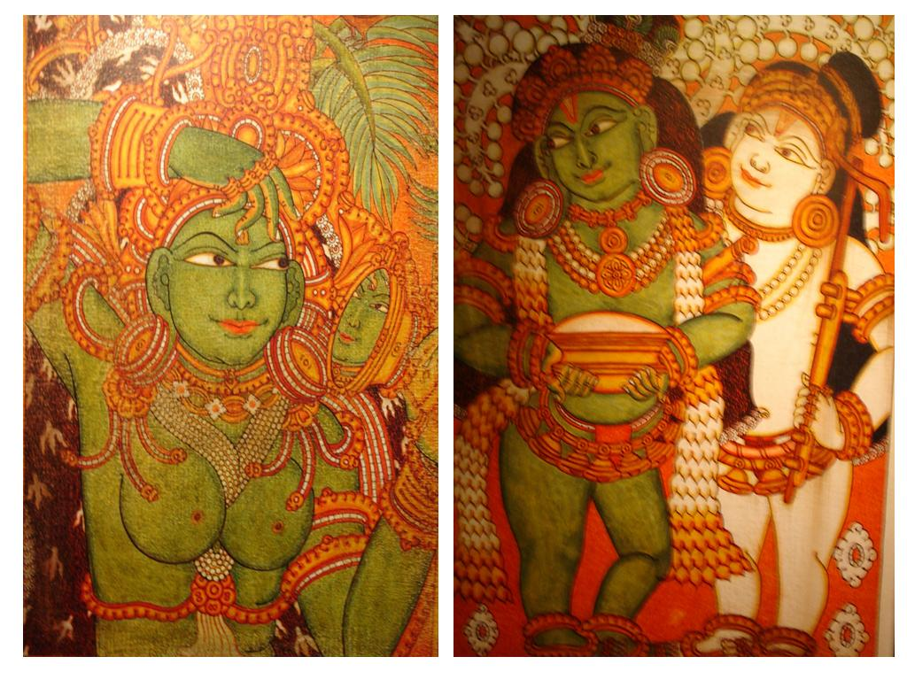 Kodai hills august 2006 for Asha mural painting guruvayur