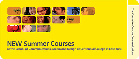 New Summer Courses at Centennial College