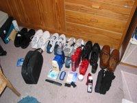 Schuhe und Beauty-Zeugs