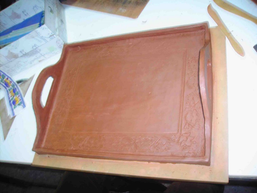 Alfareria Y Ceramica Bandeja