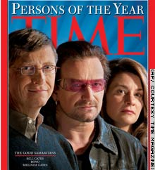 Time's Person of the Year Cover, 2005