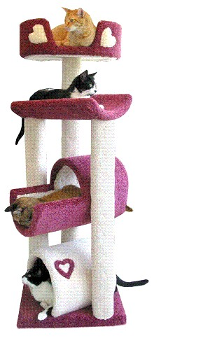 Rascadores para gatos - Trepadores para gatos ...