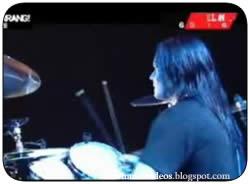 Metallica y Joey Jordison de Slipknot - Enter Sandman Live (2004)
