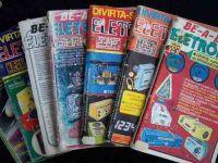 Revistas de eletrônica da época