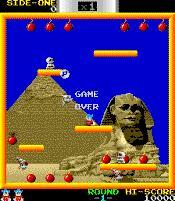 BombJack, um dos jogos de fliperama que eu mais gostava