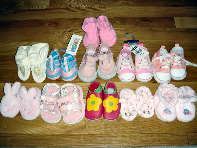 The Wicked Stepmom: For Sale: Baby Shoes, Never Worn