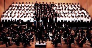 Interpretación de la 9 sinfonia de Beethoven.