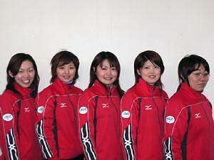 Equipo japones para el campeonato 2006