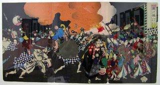Estampa japonesa s.XIX