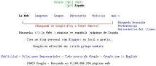 google con el w3m