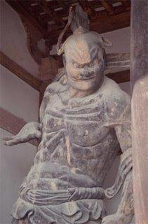 Estatua del guardian de Horyu-ji