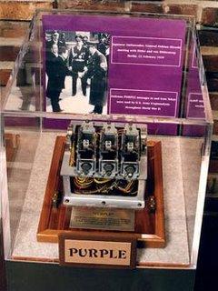 Máquina Púrpura en el museo de Berlín