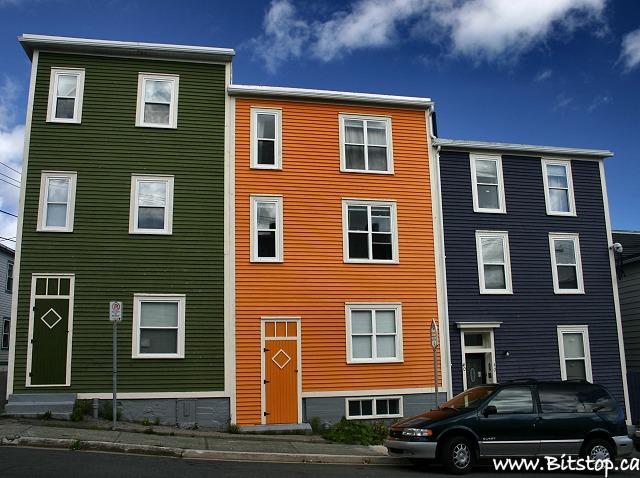 Bitstop september 2006 for Newfoundland houses