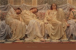art by Albert Joseph Moore