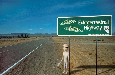 Driving Nevada's Extraterrestrial Highway?