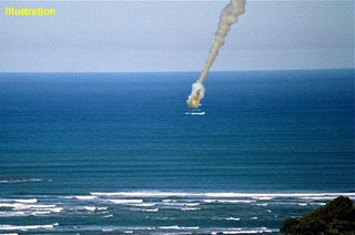 UFO Crashes into KZN Sea