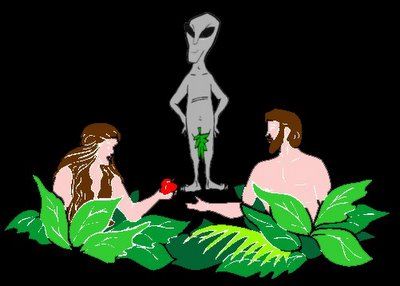 Adam & Eve & Alien