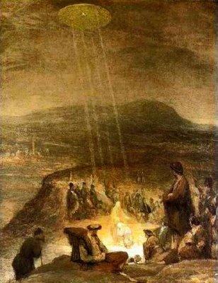 Baptism of Christ & Flying Saucer