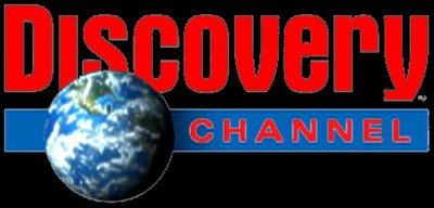 Discovery Channel Logo On Black