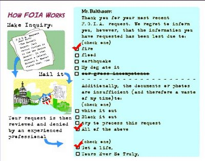 FOIA - How It Works Graphic