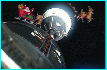Gemini 6 & Santa