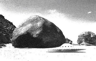 Giant Rock & Saucer