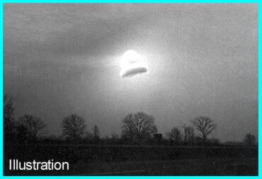Kecksburg UFO 1965 in Frame