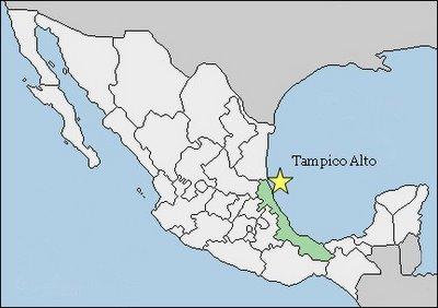 Map Tampico Alto