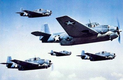 Navy Avengers Over Bermuda Triangle