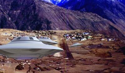 Saucer Landing Strip