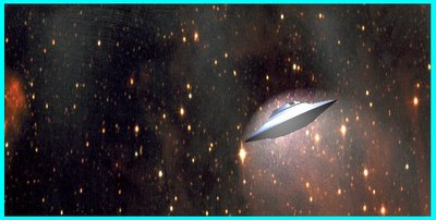 Saucer in Space