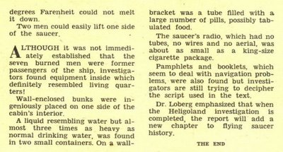 Sir Magazine Sept 1954 First Report On Caprured Saucer (5)
