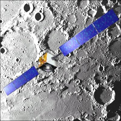 Smart-1 Crashing into Moon
