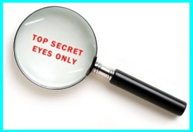 Top Secret Eyes Only Magnfying Glass B