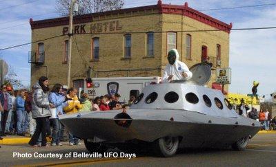 UFO Car Belleville