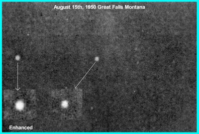 UFO Great Falls Montana Cropped Enhanced