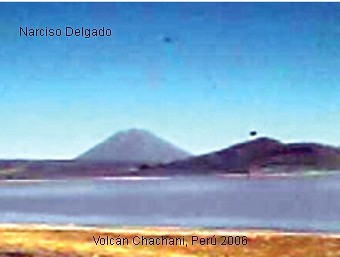 UFO Near Ubinas Volcano A
